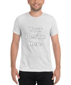 YOUR Design on this Unisex Tri-Blend T-Shirt   Bella + Canvas 3413 Unisex