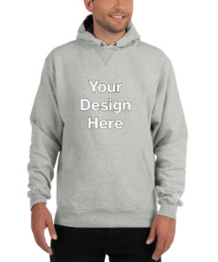 YOUR Design on this Men's Champion Hoodie For Mens