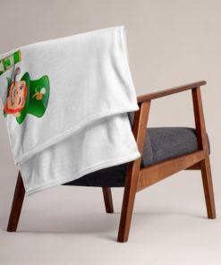 Saint Patrick Jeep Grill Throw Blanket Blankets Beer