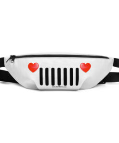 Jeep Hearts Grill Fanny Pack Fanny Pack Hearts