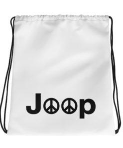 Jeep Peace Logo Drawstring bag Drawstring Peace