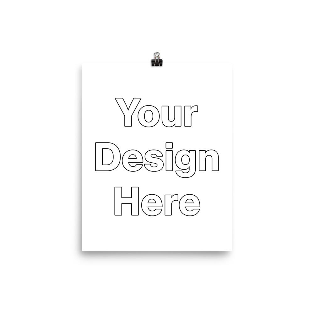 Your Design Here Enamel Mug Add YOUR design