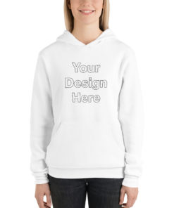 YOUR Design on this Unisex Pullover Hoodie | Bella + Canvas 3719 Unisex
