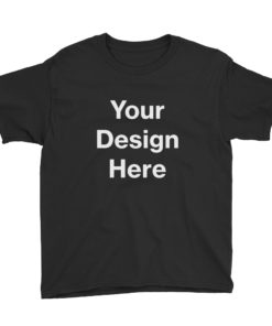 YOUR Design on this Youth Lightweight T-Shirt | Anvil 990B For Kids & Youth
