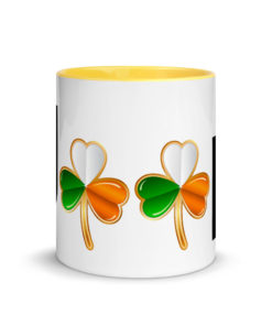 Jeep Ireland Logo Mug with Color Inside Mugs Ireland