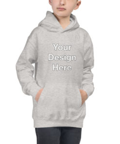 YOUR Design on this Kids Hoodie For Kids & Youth