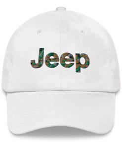 Jeep Camo Logo Dad hat