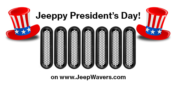 President's Day Jeep