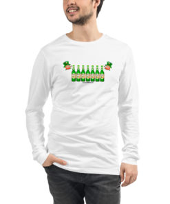 Saint Patrick Jeep Grill Unisex Long Sleeve Tee Long Sleeve T-Shirt Beer
