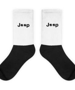 Jeep Bullet Holes Logo Socks Socks Bullets