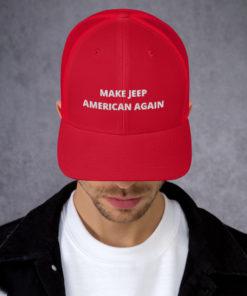 Make Jeep American Again Trucker Cap Caps Other
