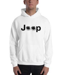 Jeep Bullet Holes Logo Unisex Hoodie Hoodies Bullets