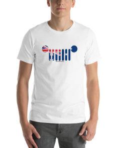 Jeep Grill Australia Flag Short-Sleeve Unisex T-Shirt T-Shirts Australia