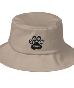 Jeep Paw Old School Bucket Hat Buckets Paw