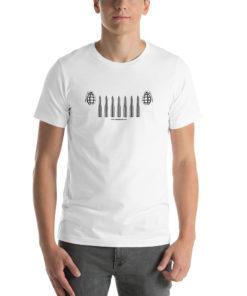 Jeep Grenade Bullets Grill Short-Sleeve Unisex T-Shirt T-Shirts Bullets