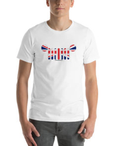 Jeep Grill United Kingdom Flag Short-Sleeve Unisex T-Shirt T-Shirts United Kingdom