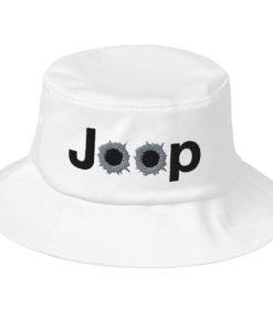Jeep Bullet Holes Logo Old School Bucket Hat Buckets Bullets