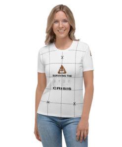 Toilet Paper Crisis Women's T-shirt T-Shirts TP Crisis