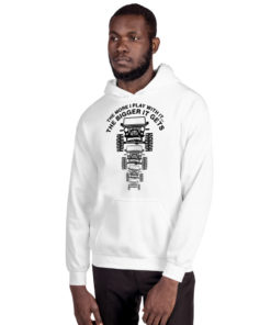The More I Play With It… Unisex Hoodie Hoodies The More I Play With It