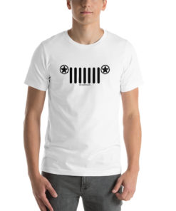 Jeep Army Star Grill Short-Sleeve Unisex T-Shirt T-Shirts Army Star