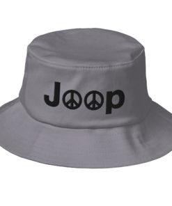 Jeep Peace Logo Old School Bucket Hat Buckets Peace