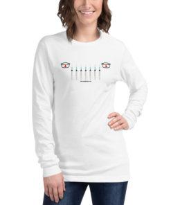 Jeep Nurse Grill Unisex Long Sleeve Tee Long Sleeve T-Shirt Nurse Doctor