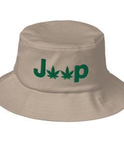 Jeep Weed Logo Old School Bucket Hat Buckets Weed