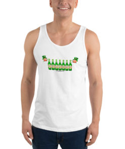 Saint Patrick Jeep Grill Unisex Tank Top Tanks Beer