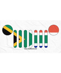 Jeep Grill South Africa Flag Towel Towels South Africa