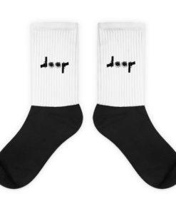 Jeep Guns Bullet Holes Logo Socks Socks Bullets