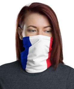 France Flag Neck Gaiter Neck Gaiters France