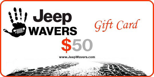 Free Jeepwavers Gift Card
