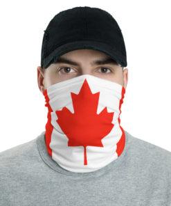 Canada Flag Neck Gaiter Neck Gaiters Canada