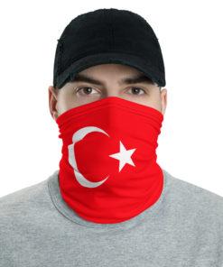 Turkey Flag Neck Gaiter Neck Gaiters Turkey