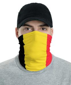 Belgium Flag Neck Gaiter