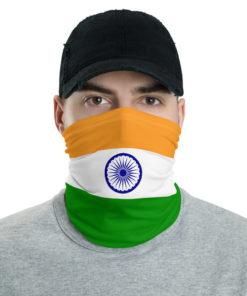 India Flag Neck Gaiter Neck Gaiters India