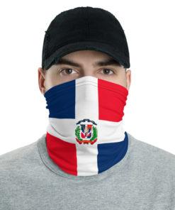 Dominican Republic Flag Neck Gaiter