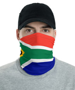 South Africa Flag Neck Gaiter Neck Gaiters South Africa