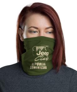Jeep Club Dominican Republic Neck Gaiter Neck Gaiters Dominican Republic