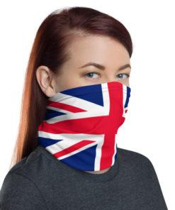United Kingdom Flag Snood Neck Gaiters United Kingdom