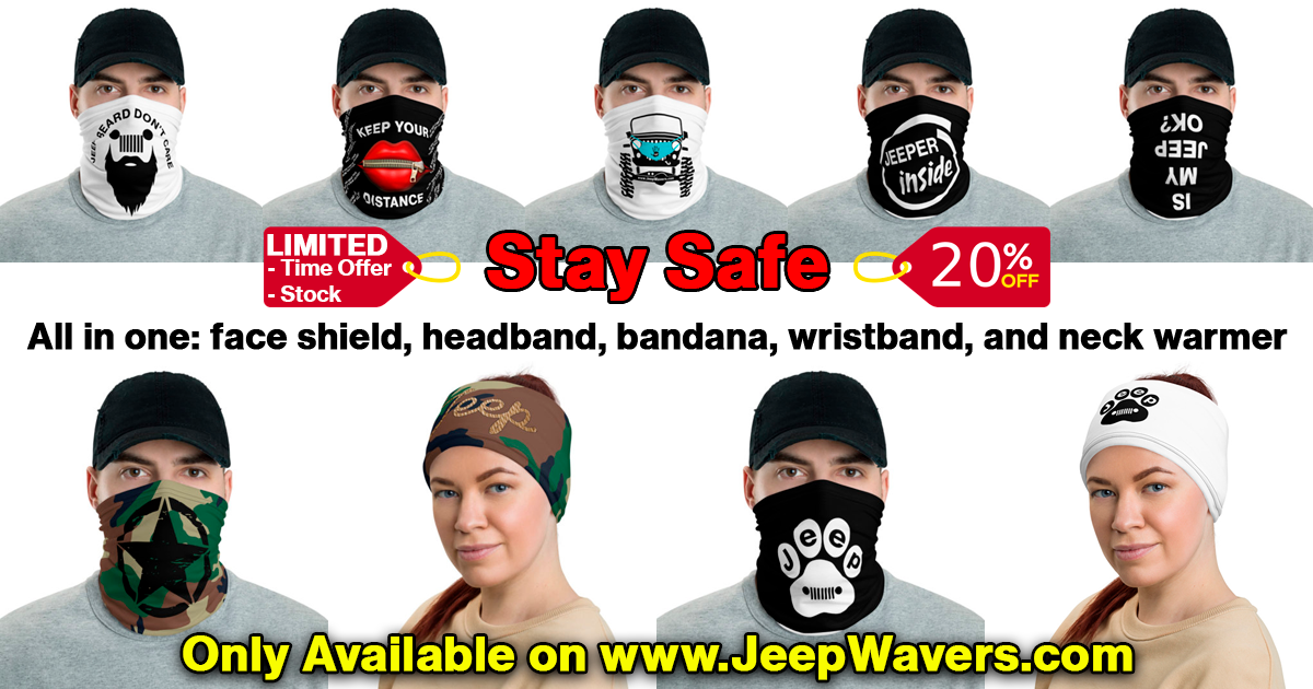 Face Shield for Jeepers