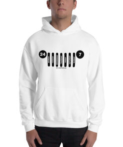 Jeep Daily Grill Unisex Hoodie Hoodies Daily Jeep