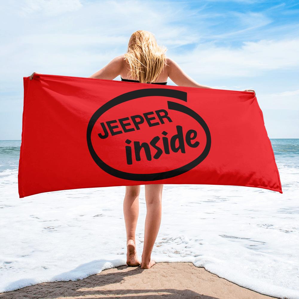 Jeeper Inside Towel