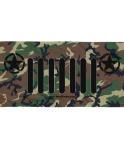 Jeep Army Star Grill Camouflage Towel