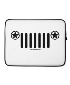 Jeep Army Star Grill Laptop Sleeve Laptop Cases Army Star