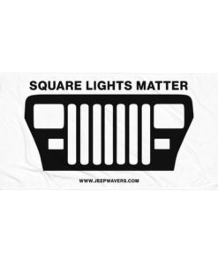 Square Lights Matter Jeep YJ Grill Towel Towels Square Lights