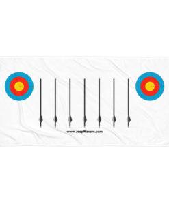 Jeep Archery Grill Towel Towels Archery