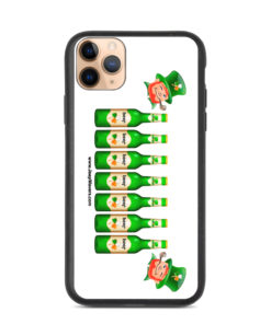 Saint Patrick Jeep Beer Grill Biodegradable iPhone case iPhone Cases Beer
