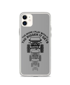 The More I Play With It… iPhone Case iPhone Cases The More I Play With It