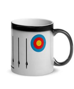 Jeep Archery Grill Glossy Magic Mug Mugs Archery